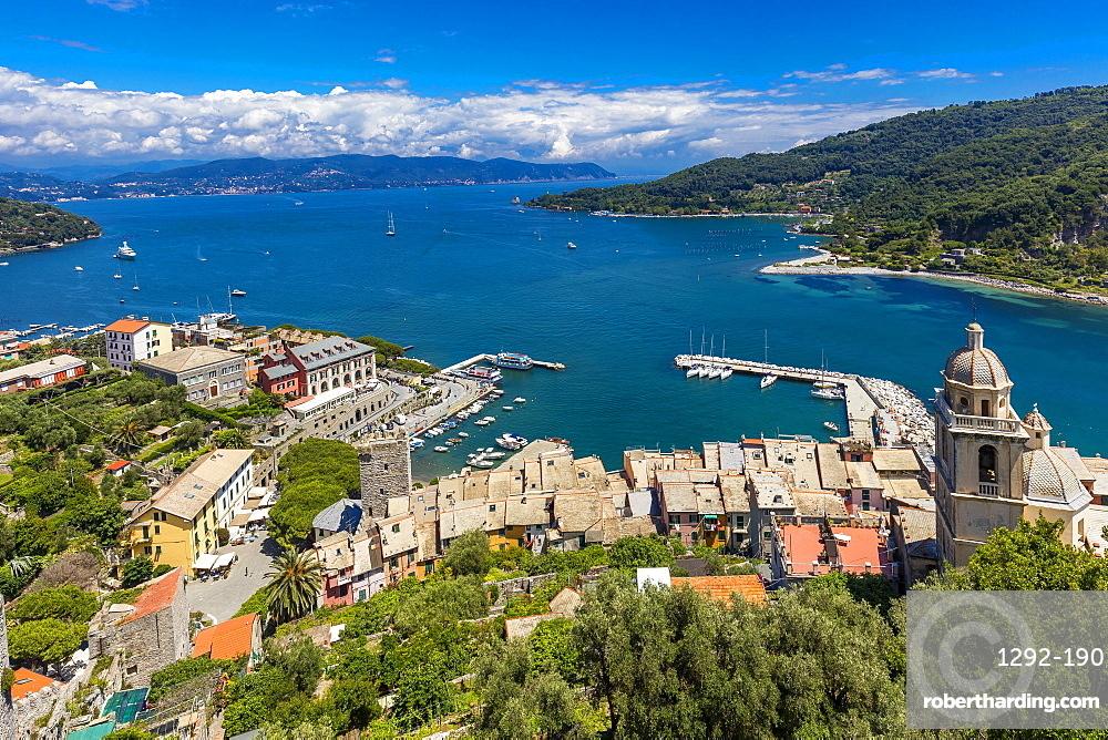 The Doria castle, Portovenere, Liguria, Italy, Europe