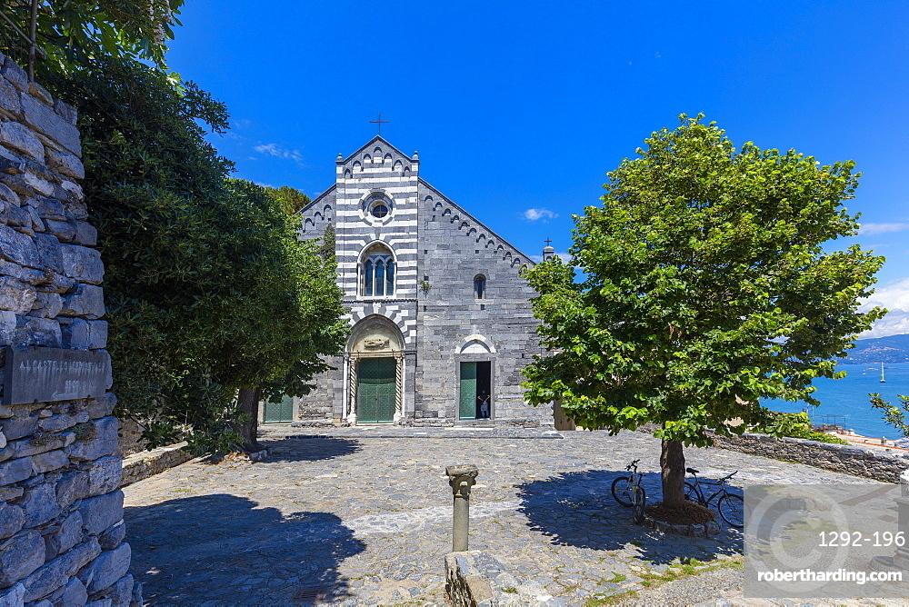Church of San Lorenzo, Portovenere, Liguria, Italy, Europe