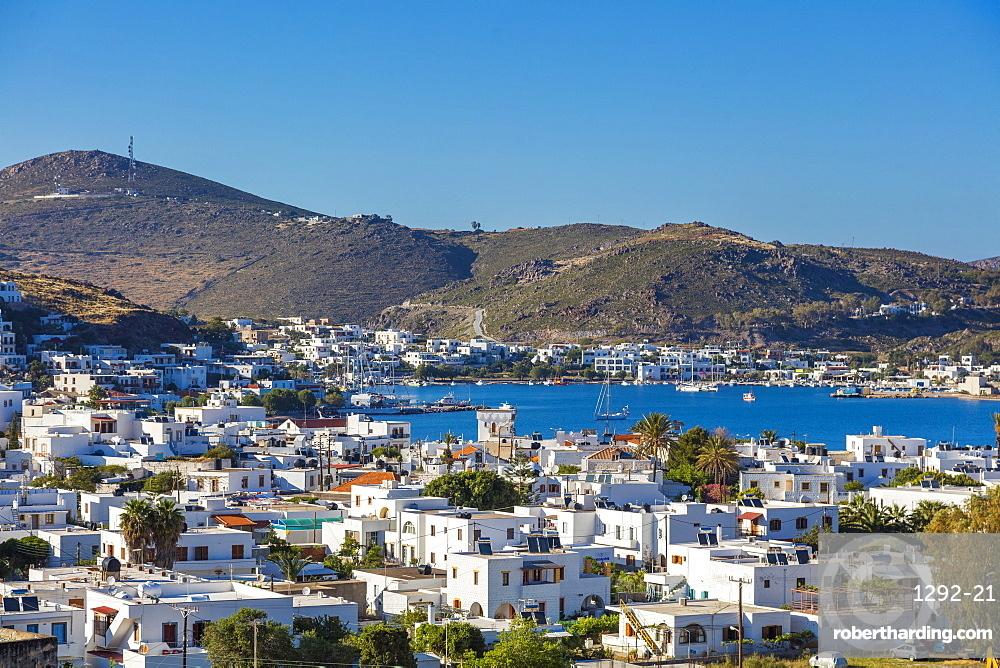 Skala, Isle of Patmos, Dodecanese, Greek Islands, Greece, Europe