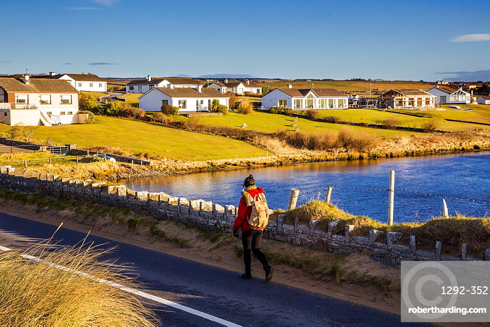 Lahinch, Cliffs Coastal Walk, County Clare, Munster, Republic of Ireland, Europe