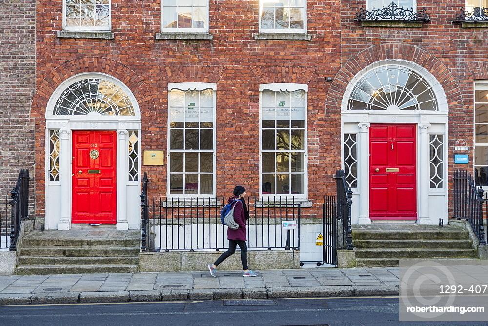 Merrion Street Up, Dublin, Republic of Ireland, Europe