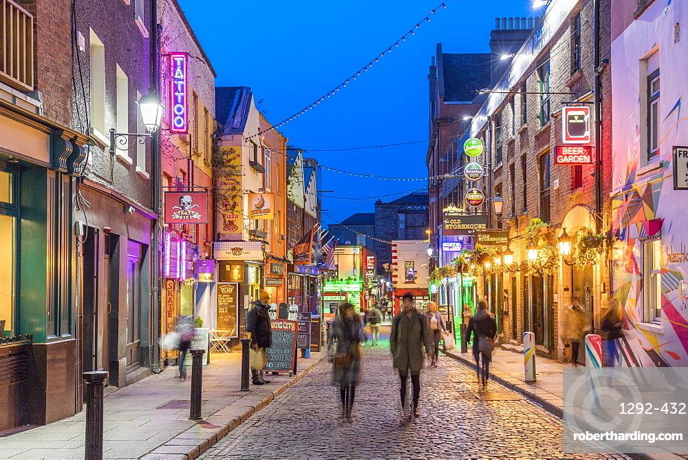 Temple Bar, Crown Alley, Dublin, Republic of Ireland, Europe