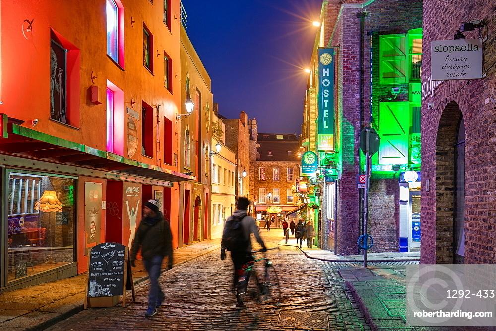 Temple Lane, Temple Bar, Dublin, Republic of Ireland, Europe