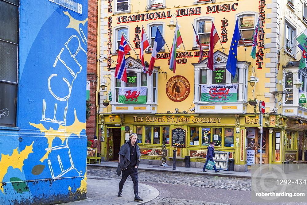 The Oliver St. John Gogarty, Temple Bar, Dublin, Republic of Ireland, Europe