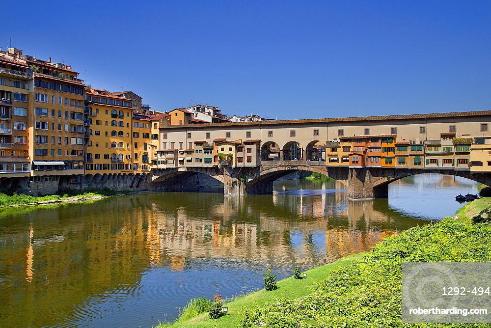Ponte Vecchio, Florence, UNESCO World Heritage Site, Tuscany, Italy, Europe