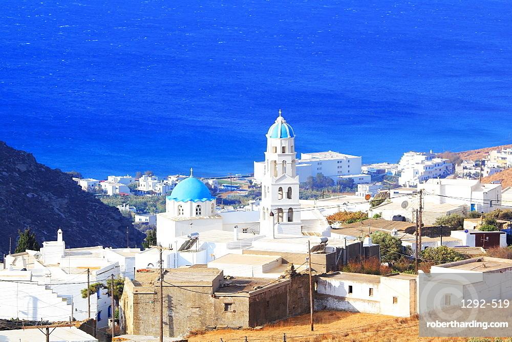 The village of Chatzirados, Tinos Island, Cyclades, Greek Islands, Greece, Europe