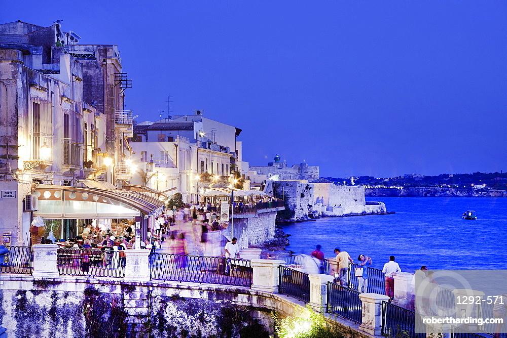 Ortigia, Siracusa (Syracuse), Sicily, Italy, Europe