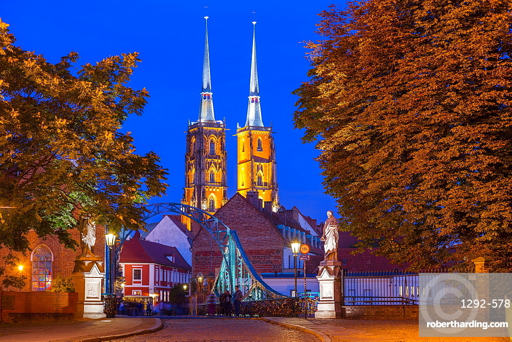 The Cathedral Island, Wroclaw, Poland, Europe