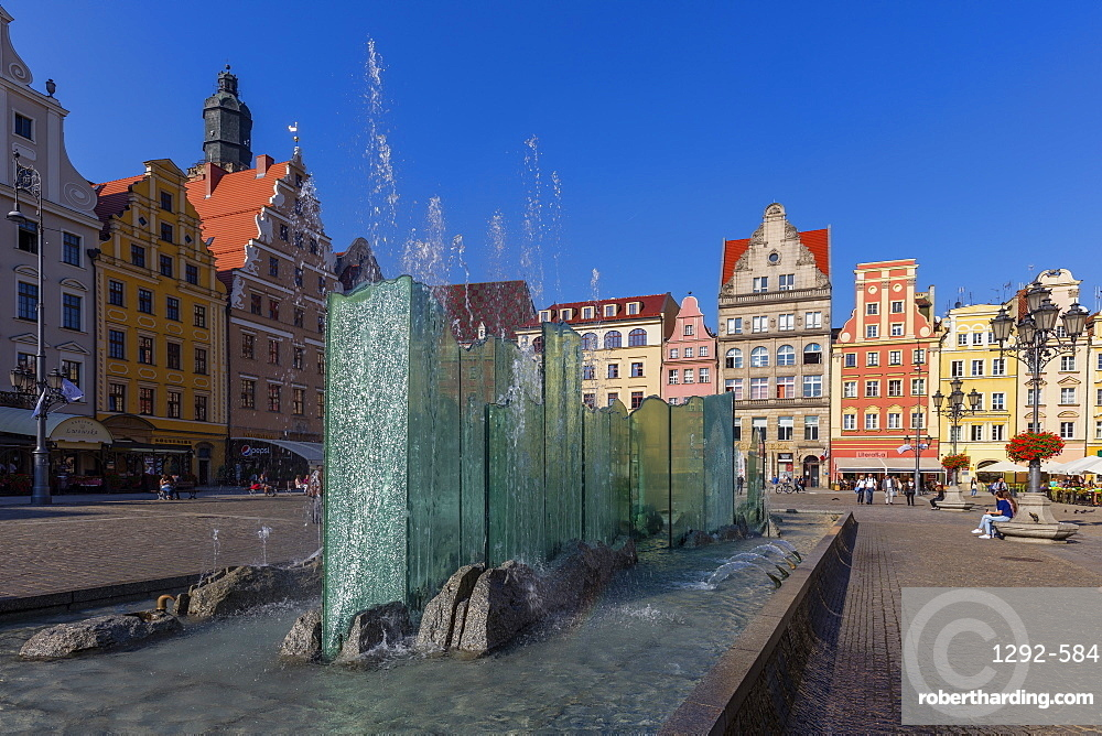 The Market Square, Wroclaw, Poland, Europe