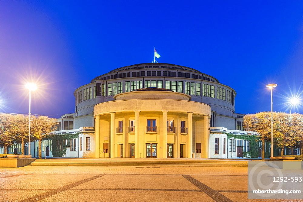 The Millennium Hall, Wroclaw, Poland, Europe