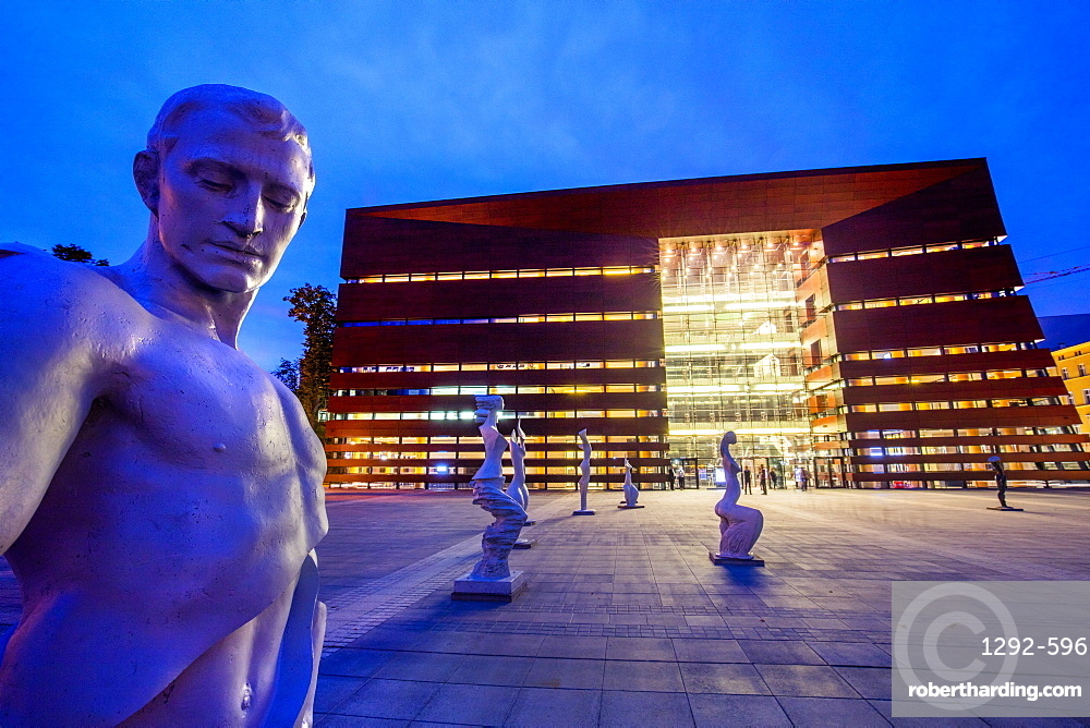 The National Forum of Music, Wroclaw, Poland, Europe