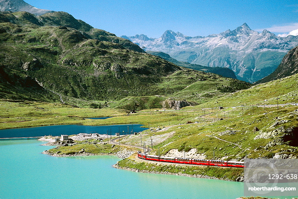 The White Lake, Canton of Graubunden (Grigioni), Switzerland, Europe