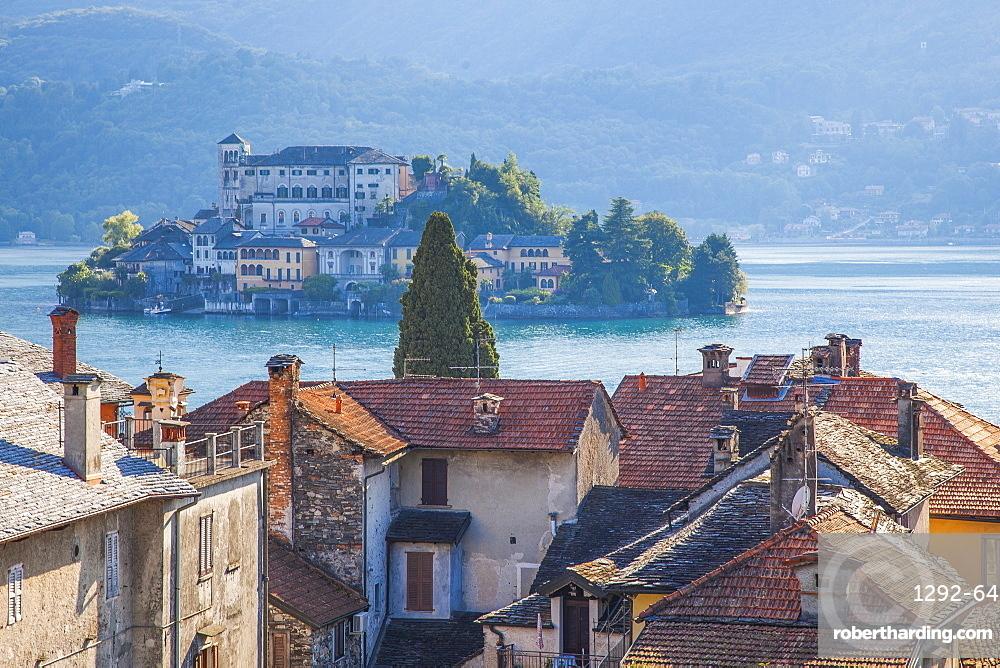 Orta San Giulio, Piemonte (Piedmont), Italy, Europe