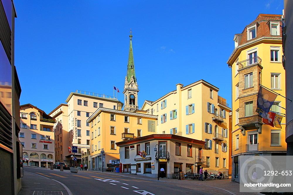 St. Moritz, Canton of Graubunden (Grigioni), Switzerland, Europe