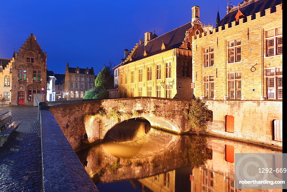 Groenerei, Bruges, Flemish Region, West Flanders, Belgium, Europe
