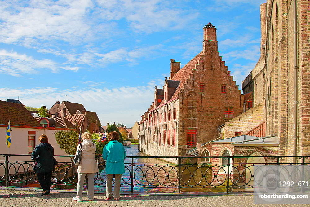 Old St. John's Hospital, Bruges, UNESCO World Heritage Site, Flemish Region, West Flanders, Belgium, Europe