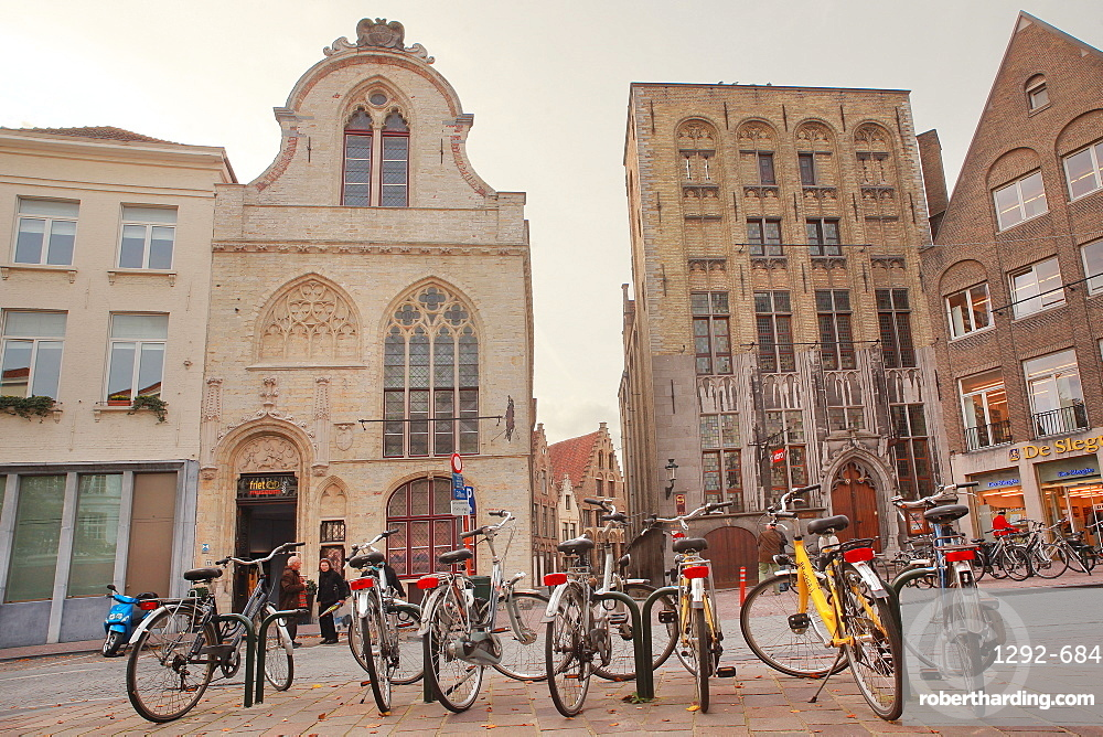 Vlamingstraat, Bruges, Flemish Region, West Flanders, Belgium, Europe