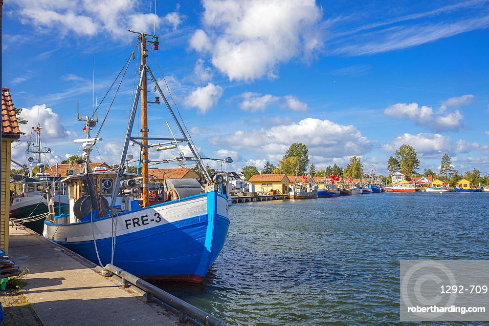 Fishing Harbor, Freest, Kroslin, Mecklenburg-Vorpommern, Germany, Europe