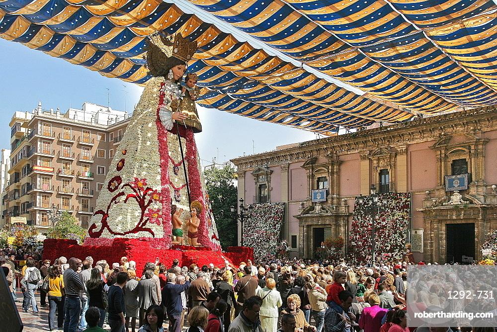 The Falles (Las Fallas) Festival, UNESCO Intangible Cultural Heritage, Valencia, Valencian Community, Spain, Europe