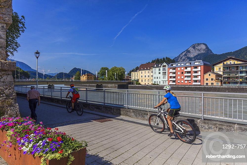 Inn River, Kufstein, Tyrol, Austria, Europe