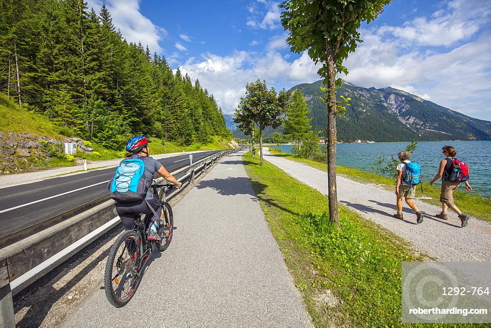 Achen lake, Seespitz, Tyrol, Austria, Europe