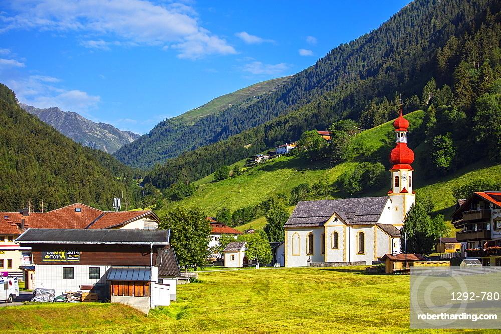 Sellrain, Tyrol, Austria, Europe