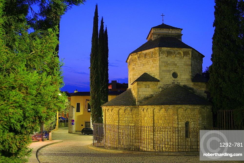 St. Nicolau Chapel, Gerona, Catalonia, Spain, Europe