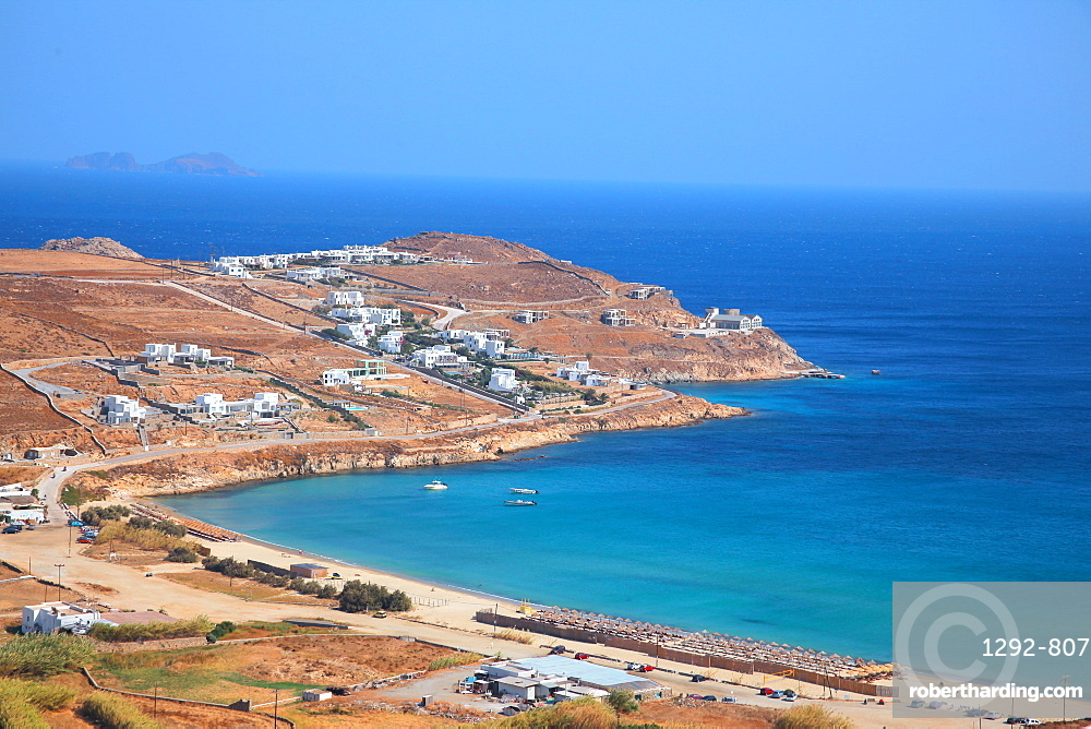 Elia beach, Mykonos, Cyclades, South Aegean, Greek Islands, Greece, Europe