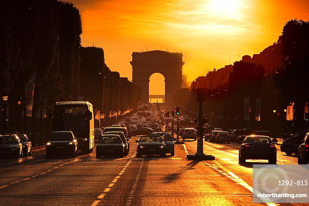 Arc de Triomphe, Paris, France, Europe
