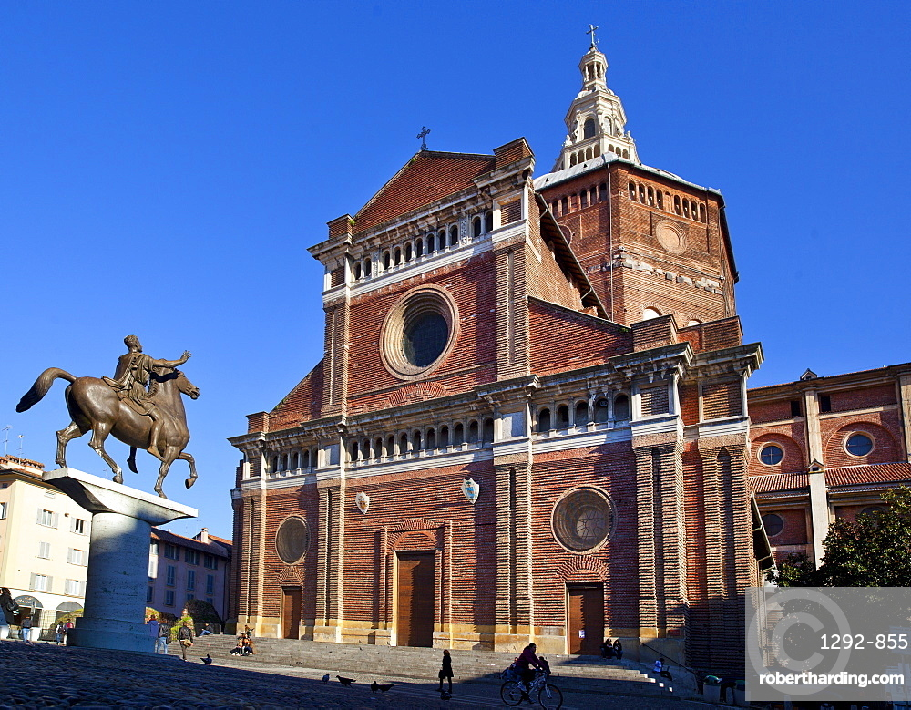 Pavia Cathedral, Pavia, Lombardy, Italy, Europe