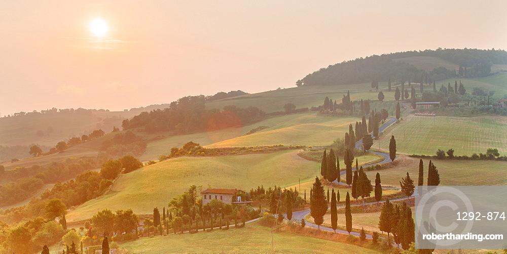 Monticchiello, Val d'Orcia, UNESCO World Heritage Site, Tuscany, Italy, Europe