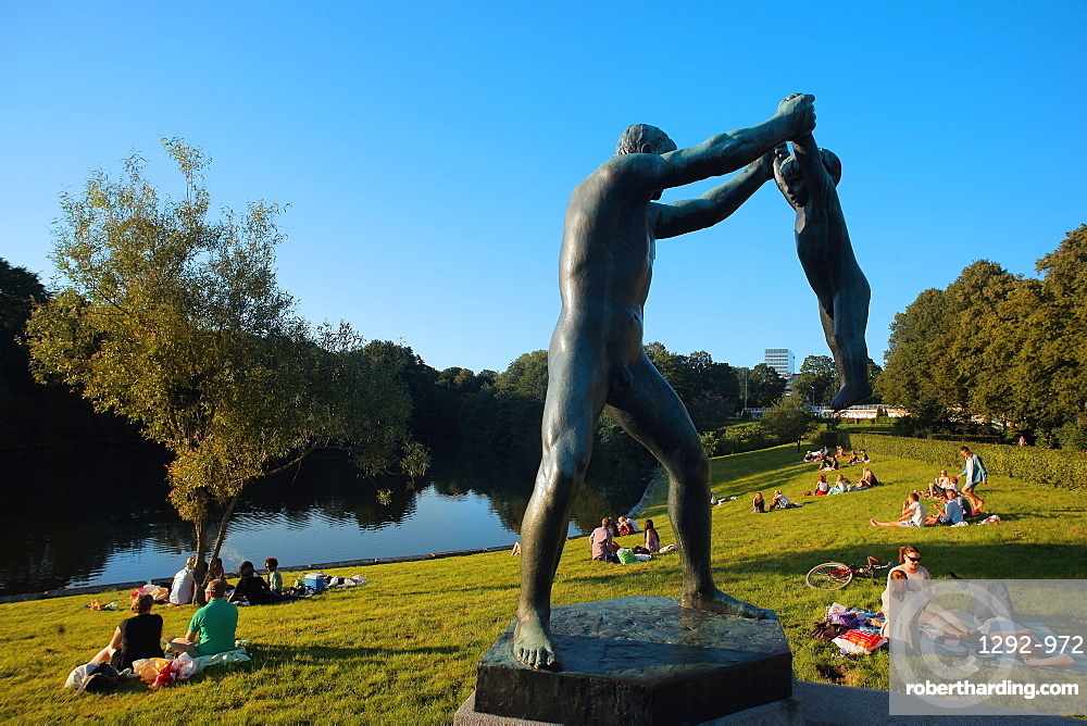 Vigeland Park, Oslo, Norway, Scandinavia, Europe