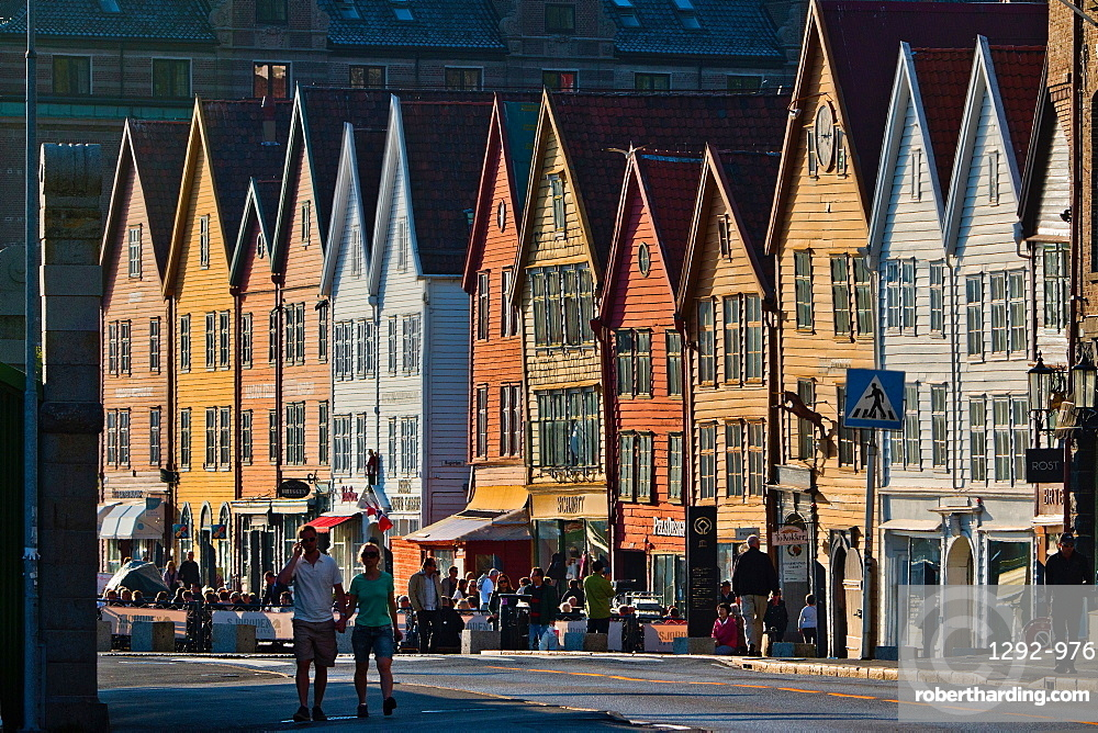 Bryggen, UNESCO World Heritage Site, Bergen, Norway, Scandinavia, Europe