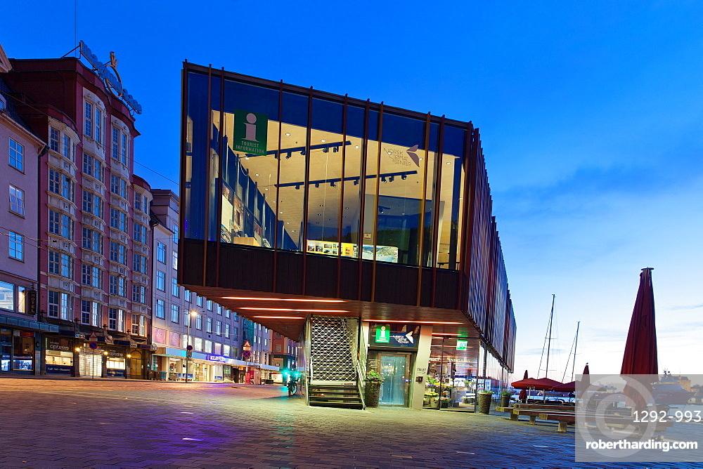 Tourist Office, Bergen, Norway, Scandinavia, Europe