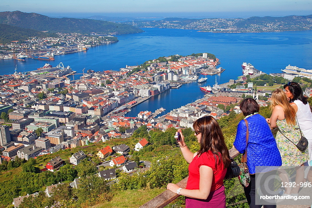 Floyen, Bergen, Norway, Scandinavia, Europe