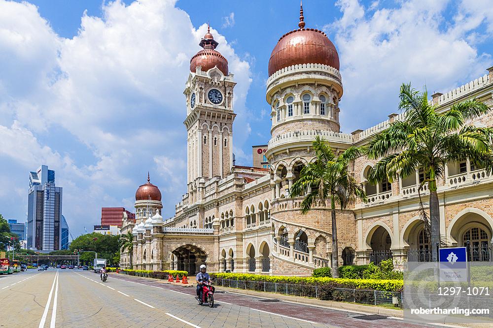 Sultan Abdul Samad Building in Kuala Lumpur, Malaysia, Southeast Asia, Asia