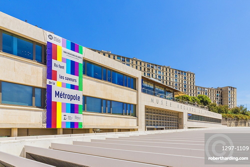 Musee Regards de Provence, museum in Marseille, Bouches du Rhone, Provence, France, Mediterranean, Europe