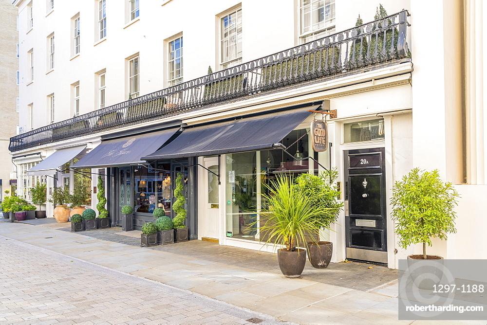 Motcomb street in Belgravia, London, Uk, Europe