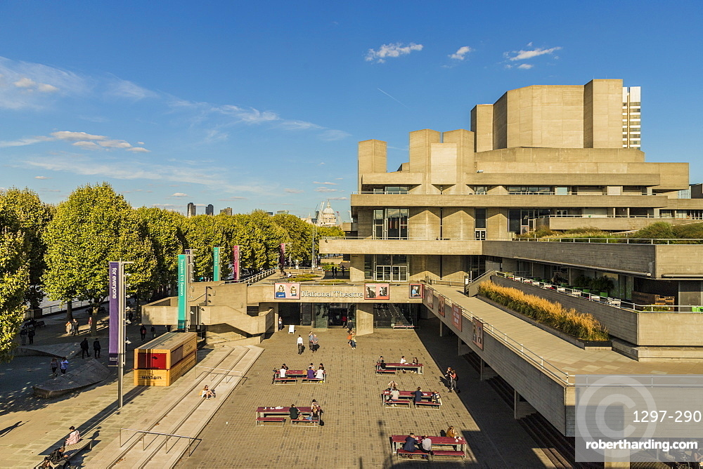 The National Theatre, South Bank, London, England, United Kingdom, Europe