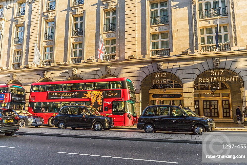 The Ritz Hotel in Piccadilly, London, England, United Kingdom, Europe