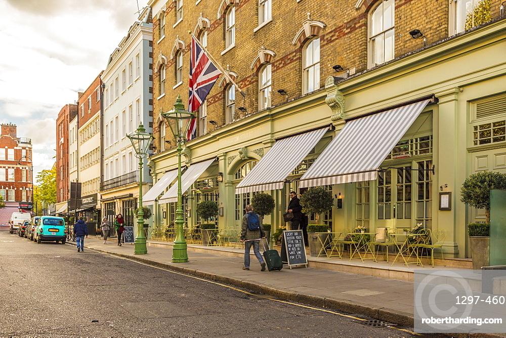 The Charlotte Street Hotel, London, England, United Kingdom, Europe