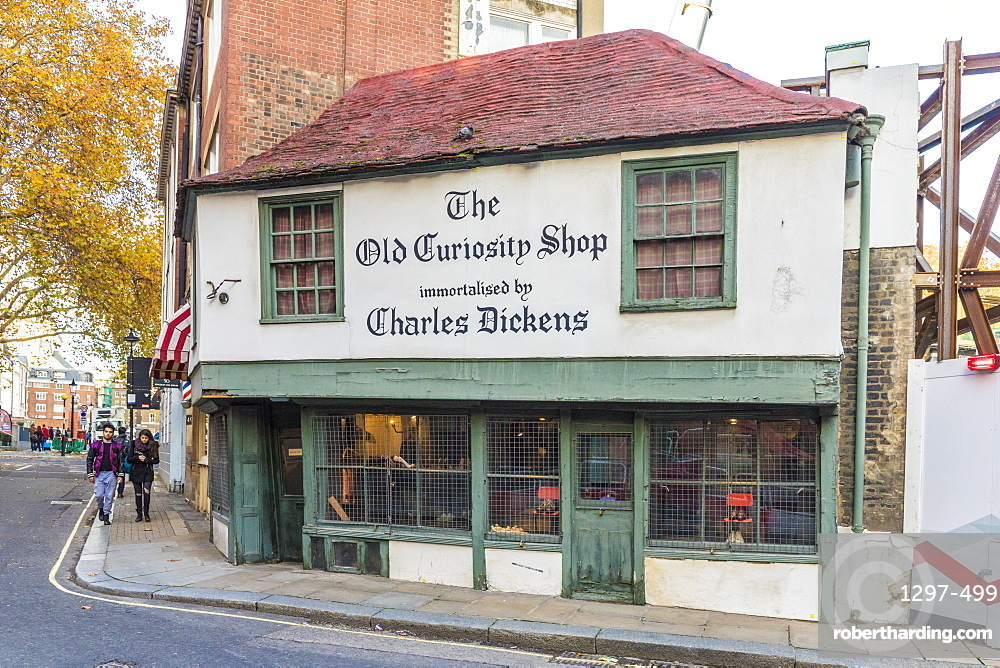 The Old Curiosity Shop in Holborn, London, England, United Kingdom, Europe