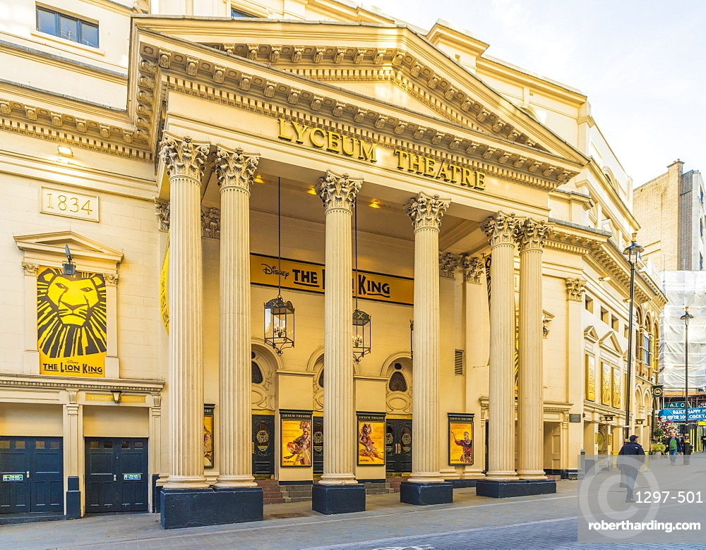 Lyceum Theatre in London, England