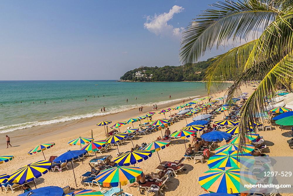 Kamala beach in Phuket, Thailand, Southeast Asia, Asia