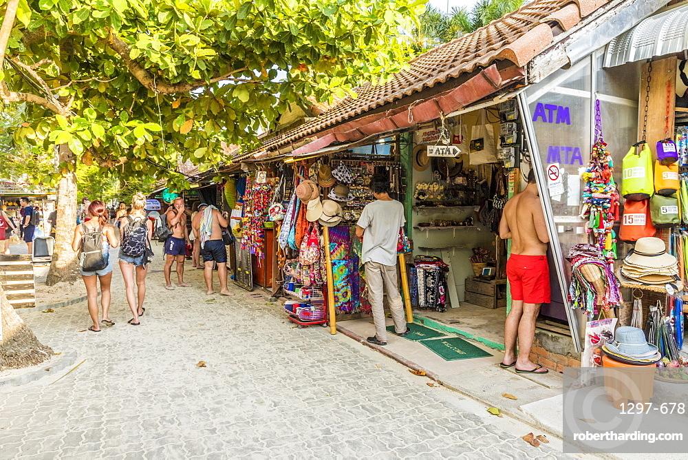 Walking Street in Railay, Ao Nang, Krabi Province, Thailand, Southeast Asia, Asia