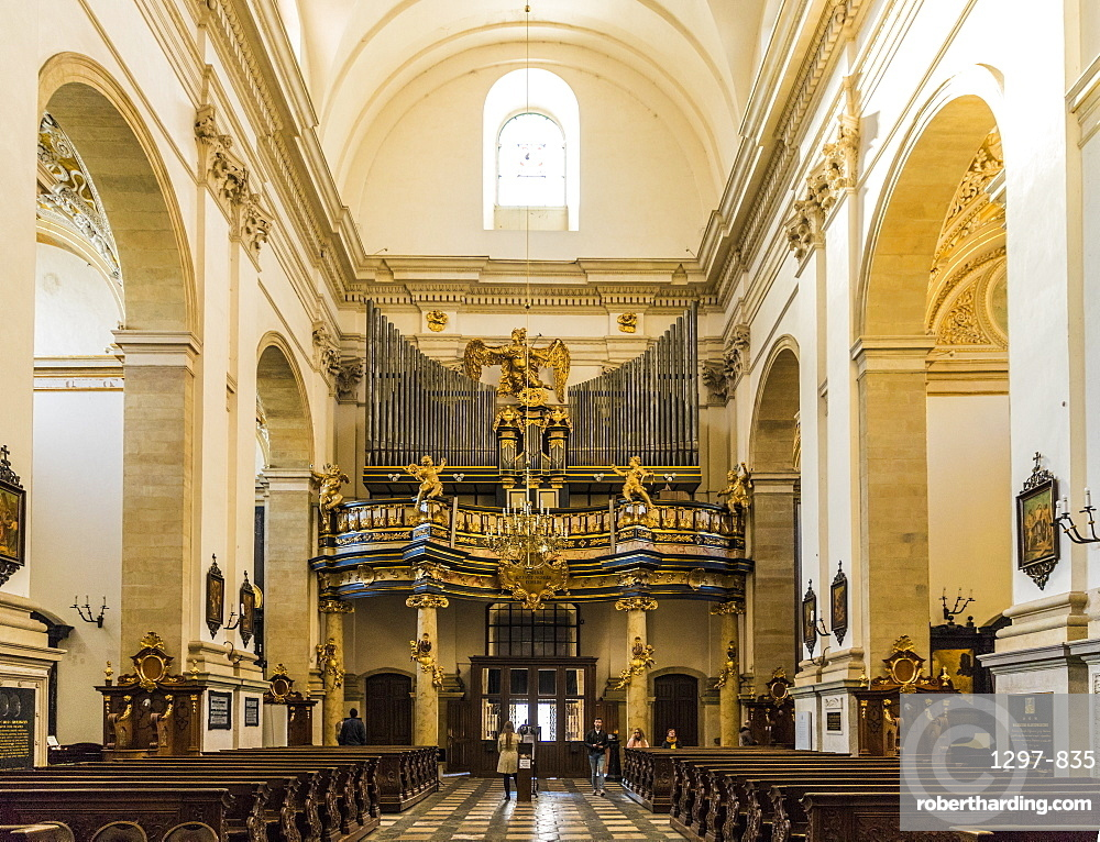 The Church of Saint Peter and Saint Paul in the medieval old town, UNESCO World Heritage Site, Krakow, Poland, Europe