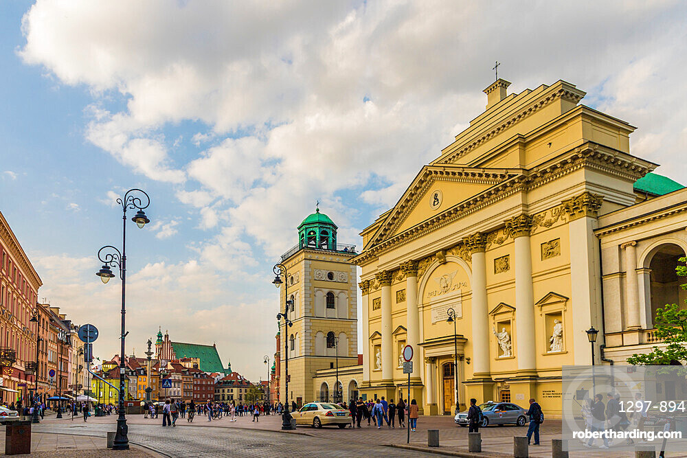 St. Anne's Church in the Old Town, a UNESCO World Heritage site in Warsaw, Poland, Europe.