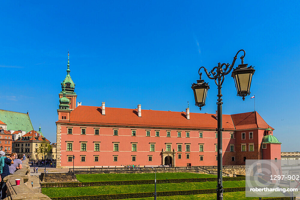 The Royal Castle in the old town, a UNESCO World Heritage site in Warsaw, Poland, Europe.