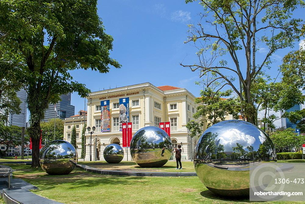 The Asian Civilisations Museum (ACM), Empress Place, Civic District, Singapore Island, Singapore, Southeast Asia, Asia