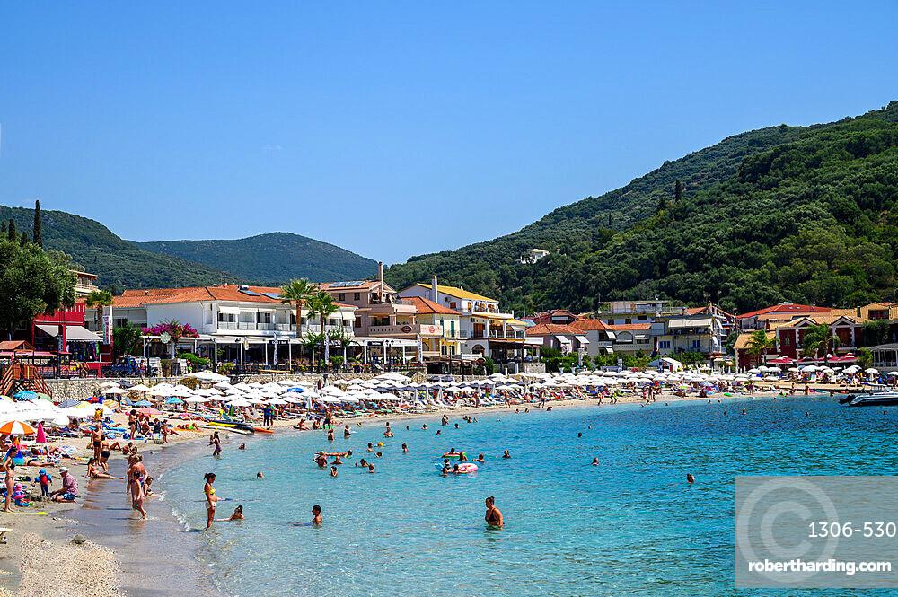 Parga beach, Parga, Preveza, Greece